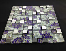 Beautiful High Quality Glass Mosaic Wall Tiles-Kitchen/Bathroom #J04