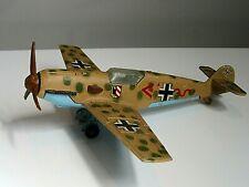 Vintage Meccano Dinky Diecast Airplane - Messerschmitt