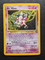 6/64 | Mr. Mime HOLO | Jungle | Pokemon Card | Light Played