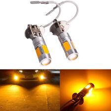 2x 33-SMD Yellow H3 7.5W 5730 Car Xenon LED Fog Driving DRL Bulb Light Lamps 12V