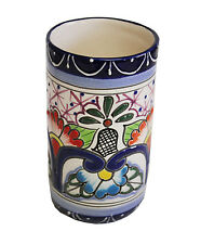 Talavera style Tumbler handmade, Chip and scratch resistant
