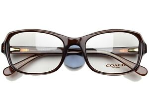 COACH 6097T 5430 New Authentic Eyeglasses Frame 52-18-135 Dark Brown
