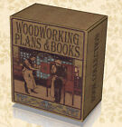 500 Carpentry Woodwork Books & Magazines on DVDs  +13K DIY Plans Designs Tool B6