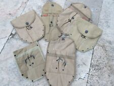 US Army M43 2. Modèle Pelle Cover e-tool outil sac chat WK2