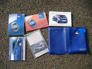 Fiat Punto 2006-2012 USER MANUAL SERVICE BOOKLET Etc