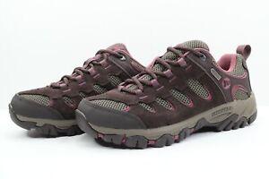 Merrell Brown Pink Ridgepass Waterproof Hiking Shoes J241631C Womens Size 6.5