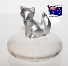 YANKEE CANDLE TOPPER ~ SILVER FOX ~ DECORATE YOUR LARGE & MEDIUM JARS
