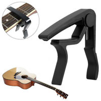 Classic Guitar Quick Change Clamp  Black Key Guitar Capo For Acoustic Electric