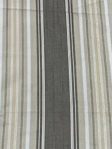 Sanderson Fabric Upholstery Curtain Cushion Material LIMA 1.9m X140cm Liquorice