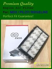 Engine Air Filter for New MDX HONDA PILOT RIDGELINE PERFECT FIT+FREE Fast Ship