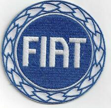 FIAT  Iron On Patch  size 3 INCH  SPECIAL  BUY 2 WE SEND THREE
