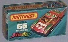 Repro box Matchbox Superfast nº 66 Mazda RX 500 streake
