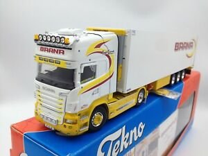 Tekno Barna Scania R & Refrigerated Trailer. Irish Tekno. Boxed with Cert. 1/50