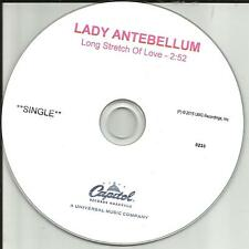 LADY ANTEBELLUM Long Stretch of Love TST PRESS PROMO DJ CD single 2015 USA MINT