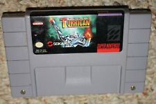 Super Turrican 1 (Super Nintendo Entertainment System SNES) Cart GREAT Shape