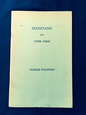 POONTANG. BY CHARLES WILLEFORD