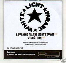 (B857) White Light Parade, Turning All The Lights DJ CD
