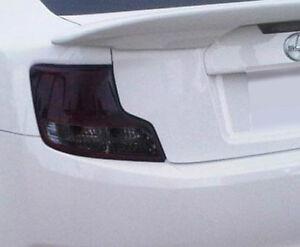 11-13 Scion TC smoked tinted tail light precut covers vinyl