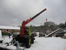 MB Trac Unimog Ladekran Rückkewagen Holzkran mit Rückewinde