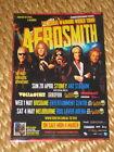 Aerosmith - Australian Tour 2013 - Laminated Promo Tour Poster