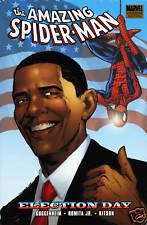 Amazing Spider-Man Election Day Premiere HC Obama