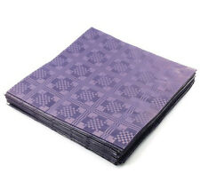 25 x Purple Paper Table Covers 90x88cm Sheets - Wedding Parties Birthdays