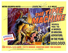 THE TIME MACHINE LOBBY TITLE CARD POSTER BQ 1960 ROD TAYLOR ALAN YOUNG