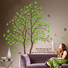 Living Room Tree Removabale Large Vinyl Wall Stickers Art DIY Decal Sticker Hot