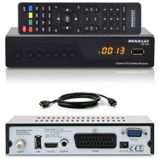 Full HDTV HD MEGASAT Digital SAT Receiver HD 390 USB HD390 TV DVB-S2 +HDMI Kabel