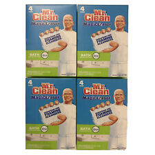 Mr. Clean Magic Eraser Foaming Bath Scrubber Lot of 4 Boxes, 16 Pads Total New