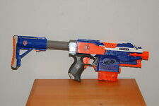 Nerf N-STRIKE ELITE STRYFE w/ Raider Stocks & 6 Round Clips Blue