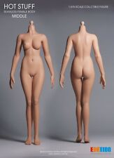 Hot Stuff 1/6 Third-Generation Female Middle Body, Ball Joint with Skin Tone M01