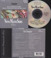 VIENNA MASTER SERIES Sampler CD - Mozart * Beethoven * Vivaldi * Chopin * Bach