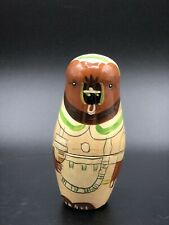"""Wooden Bird nesting dolls by Authentic Models 4.5"""""""