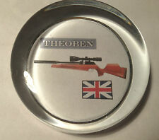 2# THEOBEN AIRGUNS ` GLASS PAPERWEIGHT `HUNTING, SHOOTING`