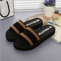 Summer Women Shoes Platform Bath Slippers Wedge Beach Flip Flops Slippers Shoes