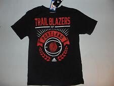 Portland Trail Blazers NBA Basketball Kids Youth Short Sleeve Shirt Medium NEW