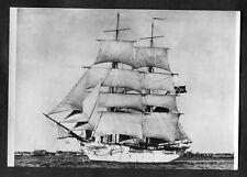 C1970s Maritime Museum Card: Norwegian Brig Statsraad Erichsen