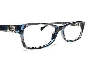 Dolce & Gabbana DG3147P 2551 Womens Blue Confetti Rx Eyeglasses Frames 53/16~135