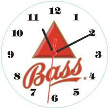 Clock-561 Bass Beer Bar Pub Wall Clock Cool Design Display