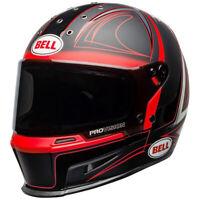 Bell Eliminator Motorcycle Helmet Hart Luck Matte Gloss Black Red White NEW 2020