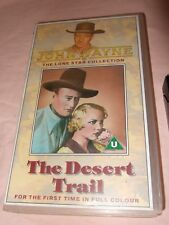 John Wayne Collection: The Desert Trail (VHS, 1990) The Lone Star Collection
