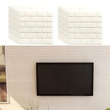 20x Adesivo da parete in mattoni 3D Pannelli autoadesivi Decorazioni per la casa