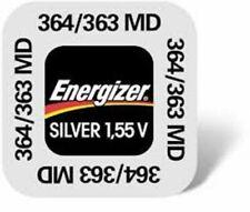 1 pile Energizer  364 / 363 / G1 / SR621SW 1,55 volt