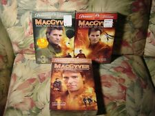 MacGyver - Complete 1st, 3rd, & 4th Seasons (Dvd, 2005) All Factory New, 16 disc