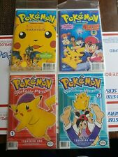 Viz Comics Pokemon Surfs Up Pikachu 1, 2 and First Movie 2 lot superb condition!