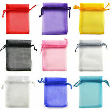 60/100/200 Wedding Favor Decoration Travel Pouch Candy Gift Bag Jewelry Packing
