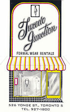 Tuxedo Junction Formal Wear Rentals, TORONTO, Ontario, Canada, 40-60s