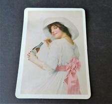 Vintage Coca Cola Victorian Woman Design from 1912 Paper Sign Magnetic Post Card