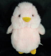 "WALMART Pink White Chick Bird Easter Plush Stuffed Animal Soft Toy 7"""